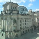 Reichstagsgebäude mit Kuppel