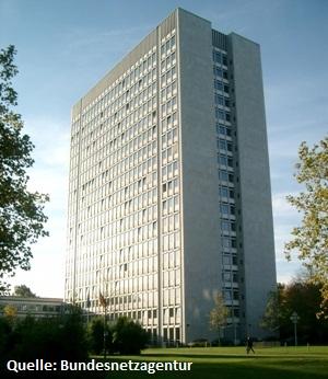 Gebäude der Bundesnetzagentur Bonn