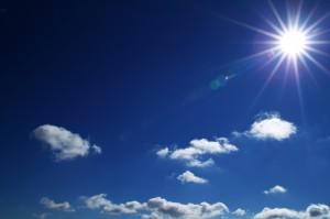 Sonne Palme Energiewende