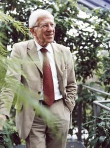 Zuhause besitzt Franz Alt eine eigene Photovoltaik-Anlage