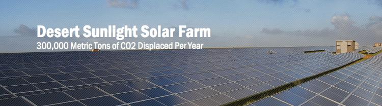 First Solar nimmt 550 Megawatt Solarpark in Betrieb