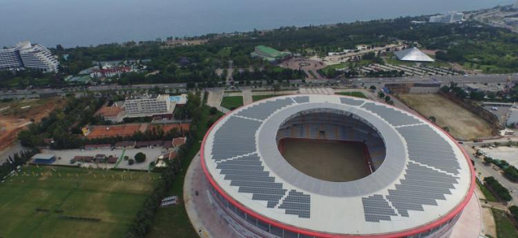 Solaranlagen werden sexy – für Fußballstadien!