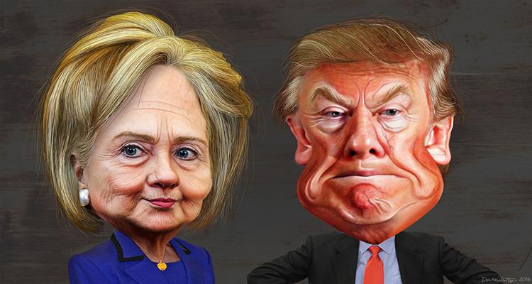 Klimawandel: Donald Trump gegen Hillary Clinton