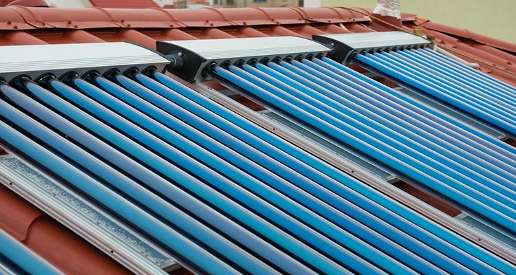 Solarthermie: Auch im Winter wärmt die Sonne
