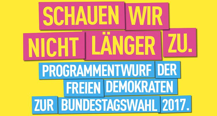 Die FDP möchte das EEG abschaffen: Schauen wir nicht länger zu!