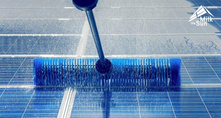 PV-Reinigung: So bleiben die Module sauber