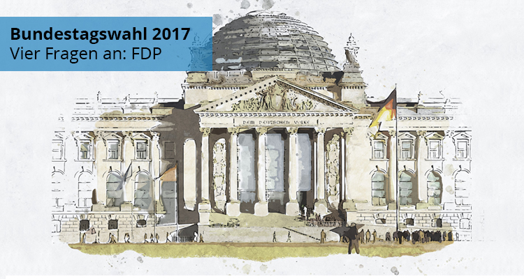 #btw2017: Dr. Hermann Otto Solms (FDP) im Interview