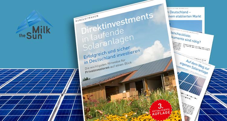 Ergänzt, erweitert, erneuert: Die dritte Auflage des Investitionsleitfadens